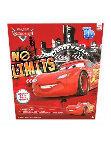 Puzzle 3D di Cars