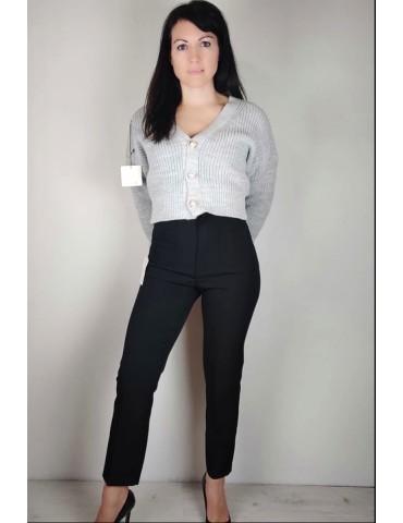 Pantalone sigaretta nero