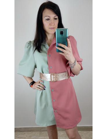 Dress Camicione bicolor
