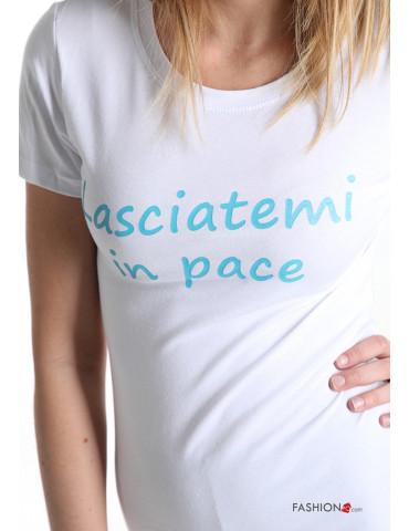 T-shirt scritta