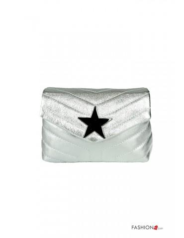 Pochette color argento
